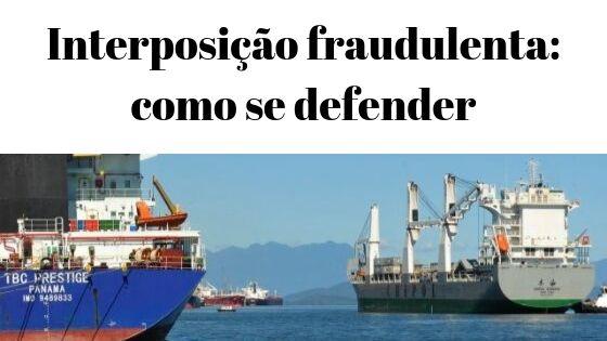 interposição fraudulenta: como se defender